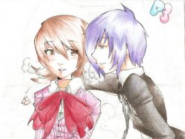 Main Character and Yukari by kianess