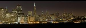 San Francisco Skyline Panorama by acojon