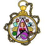 Stained Glass: Kathryn Janeway (Redesign) by LizzyChrome