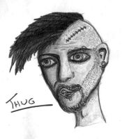 Thug Sketch by JennyVan