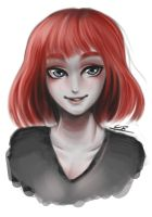 Redhead sketch by Coke-brother