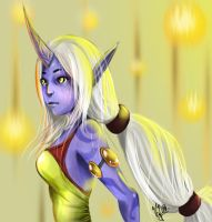 Soraka - League of Legends by LeonSerade