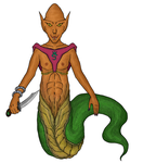 High Priest of the Naga by delusionalHamster