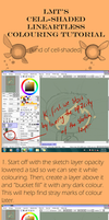Lineartless Tutorial by kyoukorpse