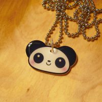 Panda Necklace by Panduhmonium