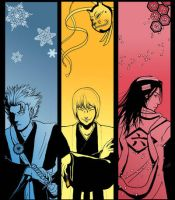 Bleach Bookmarks- Men II by Liliana-Claire