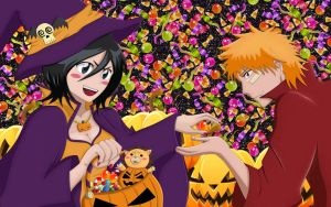 Happy Halloween (Bleach Wallpaper) by ng9