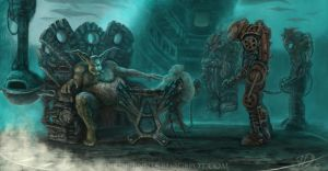 Steam Punk Slave Trade by JaredDennis