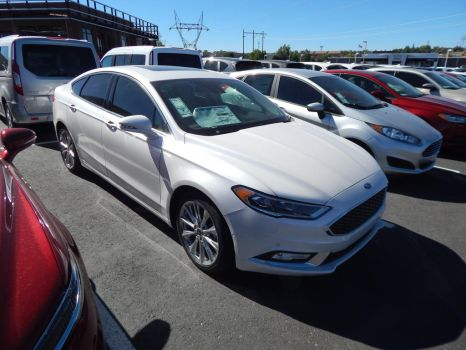 2017 Ford Fusion Platinum by TheHunteroftheUndead