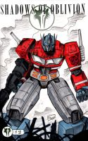 Two Sketch 60: Optimus Prime by Shono