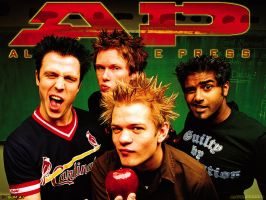 sum 41 wallpaper by asddsa1995