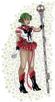 Crystal Sailor Pluto by nickyflamingo