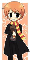 Ron Weasley by Michiko-GO