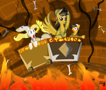Daring Doo  and the Temple of Fate by Cloclo2388