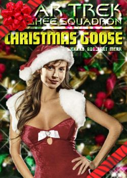Christmas Goose book cover by richmerk