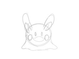 Goomy animation test by TheBloodBrothers