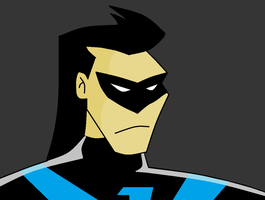 Nightwing: Batman Animated Series by DarthDizzle