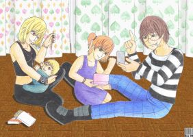 GB - Mello and Matt's family by GreenArcherAlchemist