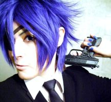 Shion Kaito: Secret Police. by sasu89