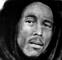 Bob Marley by ZhaoT