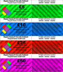 Game-Fi Prepaid cards by LevelInfinitum