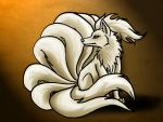 Rin the Ninetails by AkashaOokami