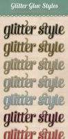Glitter Glue Styles by starsunflowerstudio