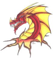 Red Dragon by Skychaser