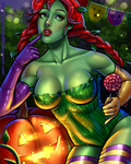 Poison Ivy: Happy Halloween by Salamandra88