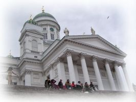 Helsinki Cathedral by Rovis2