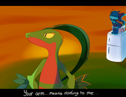 Your Arm Means Nothing to Me by SmilehKitteh