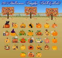 2013 Halloween Project - Pumpkin Patch! by Drache-Lehre