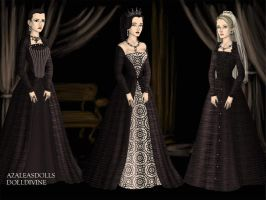 Ghostly Queens by LadyBolena