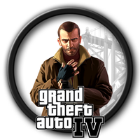 Grand Theft Auto IV Icon by kodiak-caine