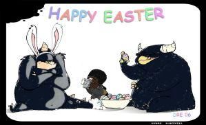 Happy Easter by AndreBarnwell