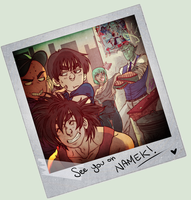 Dragon Ball Z -  POLAROID by mortinfamiART