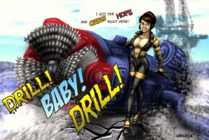 Palin: Drill BABY Drill by ChrisHolm