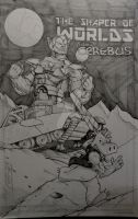 Shaper of Worlds/ Cerebus commission by steelcitycustomart