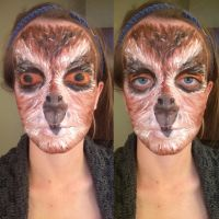 Owl (makeup) by TheGirlFromTheStars