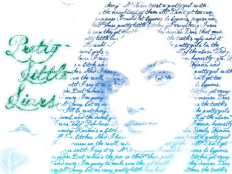 Aria Montgomery - typography by iAznMusic