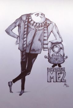 Despicable ME 2 by NatiHassansin