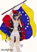 Venezuela Wake up by MirubefuArt by Mirubefu