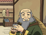 Uncle Iroh - Tea In Ba Sing Se by faithless12