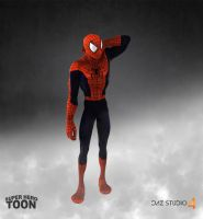 Hero Toon Spiderman by 6and6