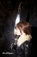 Squall at Fannatiku Fest by bluerosegoddess