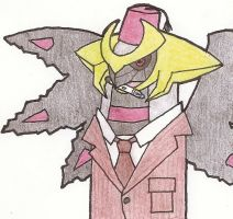 Is the Doctor! Throw him a Pokeball! by DoctorGiratina