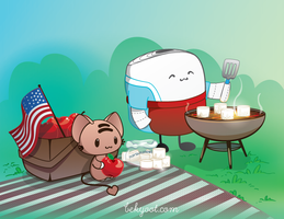 Memorial Day Picnic by lafhaha