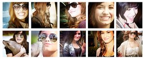 10 icons of demi lovato. by MyloveRobsten