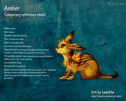 Amber reference sheet by Stygma