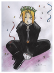 No Eggnog for Edward Elric by aliekat